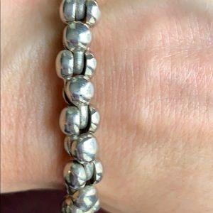 Other - Men's sterling silver link bracelet
